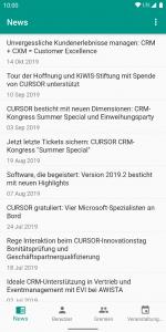 Verbände-App - News